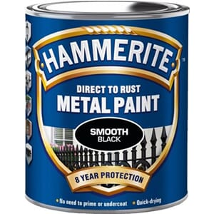 HAMMERITE 750ML SORT GLATT
